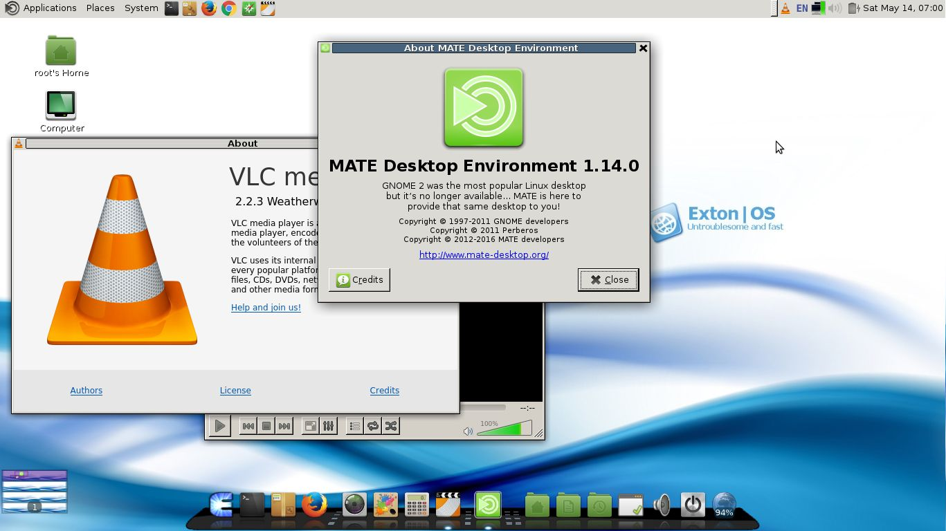 Vlc | Exton Linux | Live Systems